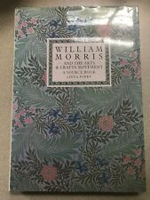 William Morris and The Arts and Crafts Movement by Linda Parry Rare HC