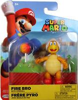 World of Nintendo ~ FIRE BRO w/FIREBALL (WAVE 14) ACTION FIGURE ~ Jakks