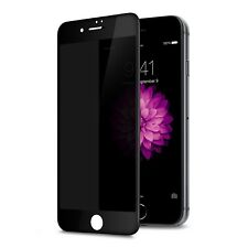 Techo Privacy Screen Protector for iPhone 7 Plus, Anti Spy 9H Tempered Glass, Ed