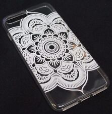 for iPhone 7 PLUS Lotus Flower leaf Clear Ultra Thin Soft Tpu Silicone Skin Case