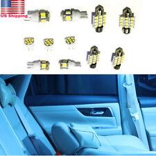11X White LED Interior Lights Package Kit For Toyota Landcruiser 100 series 2004
