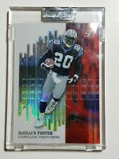 2002 Topps Pristine Refractor #112 DeShaun Foster #'d RC Rookie Card NM Panthers