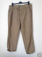 Next Authentic Women`s Ladies Brown Trousers Size 14,10XLong