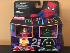 Marvel Minimates Series 32 Extremis Iron Man & Titanium Man