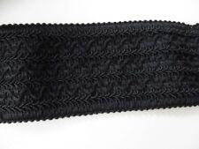 Posamentenborte elastisch 73 mm schwarz