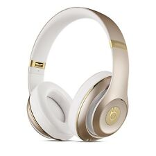 BRAND NEW BEATS BY DRE STUDIO 2 BLUETOOTH WIRELESS HEADPHONES - GOLD / WHITE