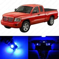 15 x Blue LED Interior Light Package For 1997 - 2010 Dodge Dakota + PRY TOOL