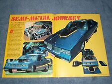 "1984 Oldsmobile Cutlass Pro Street Vintage Article ""Semi-Metal Journey"""