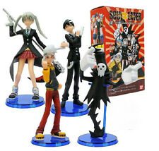 Anime SOUL EATER 4PCS Figures lot of 4pcs PVC Figure 12CM with base New in Box