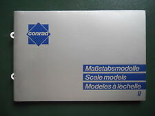 CONRAD 1/50 CATALOGUE EDITION 1992 168 PAGES FORMAT 25,5 X 17,5 cm  NEUF