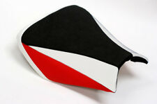 RR03 Honda CBR1000RR Fireblade seat cover 04,05,06,07 White andRed - FRONT