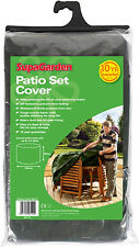 Garden Patio Table and Chair set protective cover - 163 cm x 84 cm round
