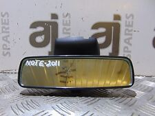 NISSAN NOTE 1.5 DIESEL 2011 REAR VIEW MIRROR