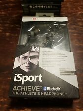 Monster iSport Achieve In-Ear Bluetooth Wireless Headphone  black or greenColors