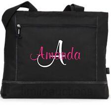 Personalized Tote Bag Monogram Bride Bridesmaid Gift Teacher Nurse Purse Diaper