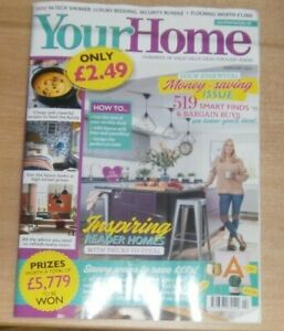 Your Home magazine Feb 2021 Money-Saving issue Inspiring Reader Homes, 519 finds