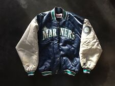 VINTAGE Seattle Mariners Diamond Collection STARTER Jacket Sz L Excellent - RARE