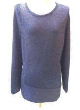 EUC Chico's, Women's sweater, METALLIC LONG-SLEEVED pullover SWEATER, size 2x, P