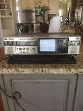 VINTAGE Sanyo MTC50 Boombox Ghettoblaster AM/FM TV And Cassette.