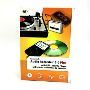 New Honestech Audio Recorder 3.0 Plus with USB Cassette Player #9739