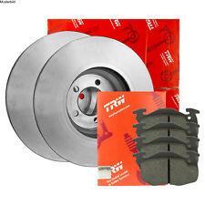 2x TRW Bremsscheibe DF6281 für PORSCHE