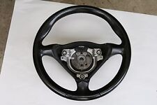 Porsche 996 986 Boxster 97-05 3 Spoke Steering Wheel Black Leather Manual