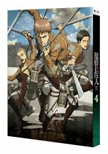 Attack on Titan Vol.4 Limited Blu-ray Soundtrack CD Shingeki no Kyojin Japan