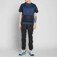 Adidas Blue X Kolor Short Sleeve Crew Shirt Men's Size L 83436