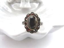 Bezaubernder Gold Ring mit Granat - Goldring