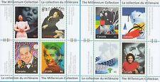 Canada stamps 1999 Millennium Collection Souvenir sheet #1-4 CA123715
