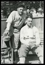 Lou Gehrig & Rogers Hornsby 1928 Thorne Type 1 Original Photo Crystal Clear