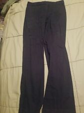 Girl's Uniform Dress pants Navy George Size 8 Adjustable waist