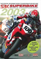 Superbike World Championship - Official review 2003 (New DVD) SBK Motorcycle