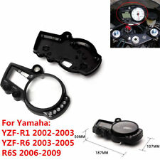 Speedo Meter Gauge Tachometer Case Cover For Yamaha YZF-R6S 2006-2007 2008 2009
