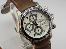BRAND NEW EBEL 1911 DISCOVERY AUTOMATIC CHRONOGRAPH VALJOUX 7750 WRIST WATCH