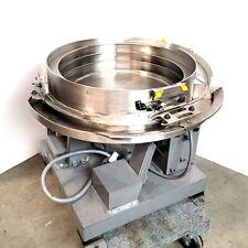 Dial X Automation D40 716 15cw 15 Vibratory Bowl Parts Feeder 120vac Cw