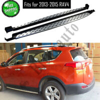 Running board fits for Toyota RAV4 2013 2014 2015 side step nerf bars car pedals