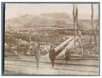 France, Toulon, La Poudrière de Lagoubran après l'explosion  Vintage citrat