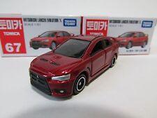 Takara Tomica #67 Mitsubishi Lancer Evolution X 1/61, 3~28pcs: With Track
