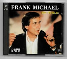 RARE DOUBLE 2 CD / FRANK MICHAEL - EN PUBLIC / ALBUM 28 TITRES