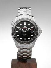 Omega Seamaster Adult Ceramic Strap Wristwatches