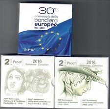 2 € comm. italia proof bandiera tito maccio donatello 2015-2016