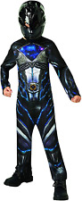 Rubie's Official Power Rangers Movie - Black Ranger Classic Childs Costume Large