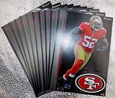 "16 Fathead Patrick Willis San Fransico 49ers NFL Decal Team Logo 7"" Tradable"