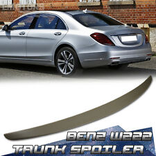 PAINTED MERCEDES BENZ W222 S600 S65 REAR TRUNK SPOILER WING 14-17 ABS NEW