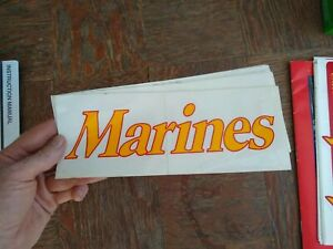 USMC   MARINE CORPS  DECAL STICKER  MARINES   4 x 10
