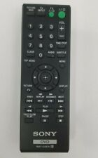 Pre-owned SONY RMT-D187A remote controller