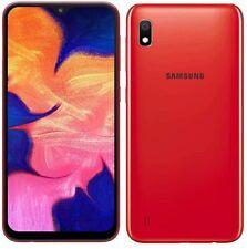 "Samsung Galaxy A10 4G 6.2"" Smartphone 32GB Dual Sim Unlocked Sim-Free (Red) B+"