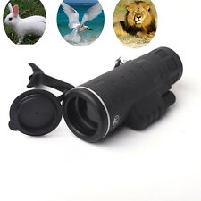 Day Night Vision Monocular 40x60 Optics Camping Hiking Hunting Telescope Scope