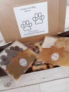 🐾Dog Pet Treat Letterbox Hamper Pick & Mix Present Gift Biscuits Chocolate